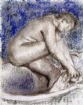 edgar degas the bath ii painting