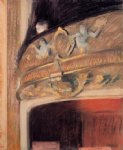 the box at the opera by edgar degas painting