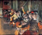 edgar degas the chorus painting