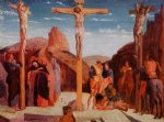edgar degas the crucifixion after mantegna painting