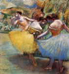 edgar degas three dancers ii painting 85841