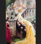 alain chartier by edmund blair leighton painting