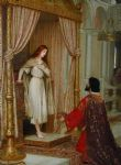 the king and the beggar maid by edmund blair leighton painting