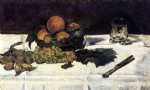 edouard manet fruit on a table painting