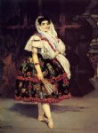 lola de valence by edouard manet painting