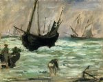 seascape oil paintings - seascape by edouard manet