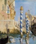 the grand canal venice by edouard manet painting