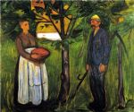 fertility ii by edvard munch painting