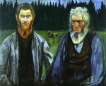 edvard munch generations painting