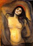 madonna by edvard munch painting