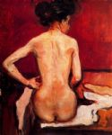 nude by edvard munch painting