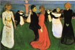 the dance of life by edvard munch painting