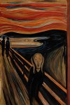 the scream iii by edvard munch painting