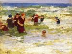 edward henry potthast at the beach i painting