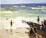 edward henry potthast bathers by the shore posters