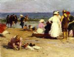edward henry potthast bathers in the surf art