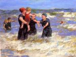 edward henry potthast making friends paintings