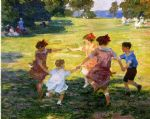 ring around the rosie by edward henry potthast painting