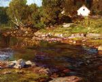 edward henry potthast souvenir of canada painting