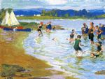edward henry potthast the white sails painting