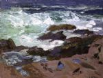 edward henry potthast wild surf ogunquit maine prints