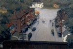 edward hopper american village painting