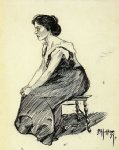 edward hopper study of a seated woman paintings-34950