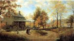 an october day ii by edward lamson henry painting