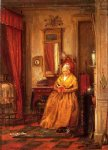 at home with a good book by edward lamson henry painting
