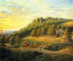 bear hill by edward lamson henry painting