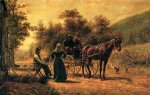 edward lamson henry return to the farm painting