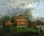 the old westover house by edward lamson henry painting