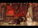 edwin austin abbey hamlet play scene painting