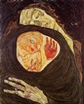 egon schiele dead mother painting