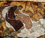 egon schiele death and the maiden prints