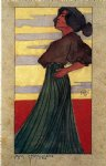 on the beach by egon schiele painting