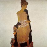 portrait paintings - portrait of gerti schiele by egon schiele