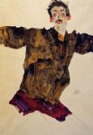 egon schiele self portrait with outstretched arms painting 34658