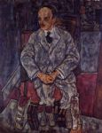 the art dealer guido arnot by egon schiele painting