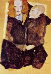 egon schiele the brother painting