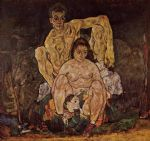 egon schiele the family painting
