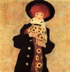 egon schiele woman with black hat paintings
