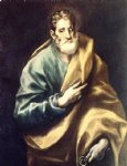 apostle st peter by el greco painting