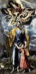 st joseph and the christ child ii by el greco painting