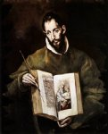 el greco st luke paintings
