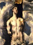 st sebastian by el greco painting