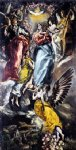 el greco the virgin of the immaculate conception painting