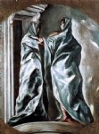 el greco the visitation painting