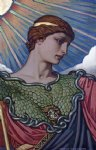 head of minerva by elihu vedder painting