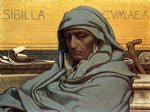 sibilia cumaea by elihu vedder paintings-34314